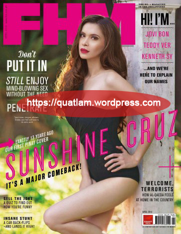 FHM Philippines - April 2013