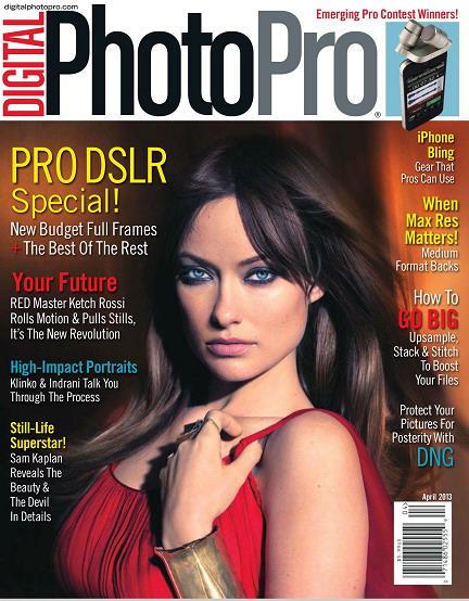 Digital Photo Pro Magazine March/April 2013