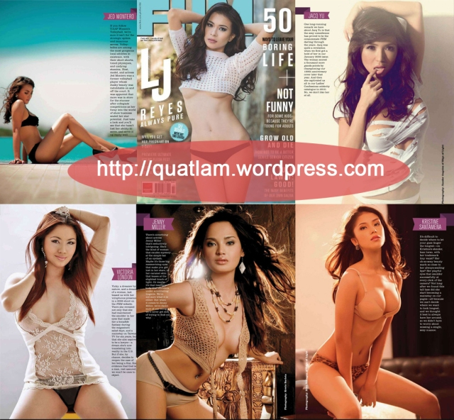 Girls of FHM Philippines : Lingerie Special 2013