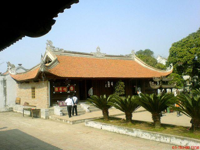 Đền Trùng Hoa trong quần thể Đền Trần