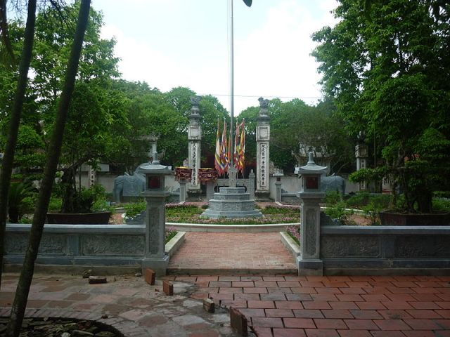 Cổng đền Cố Trạch